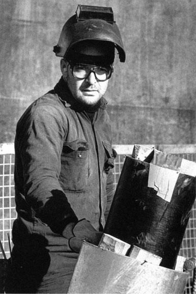 Bill Tams, boilermaker – c.1993