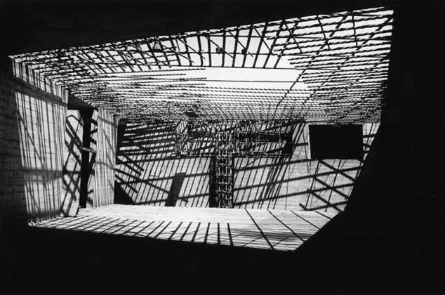Sydney Opera House steel reinforcing – c.1962