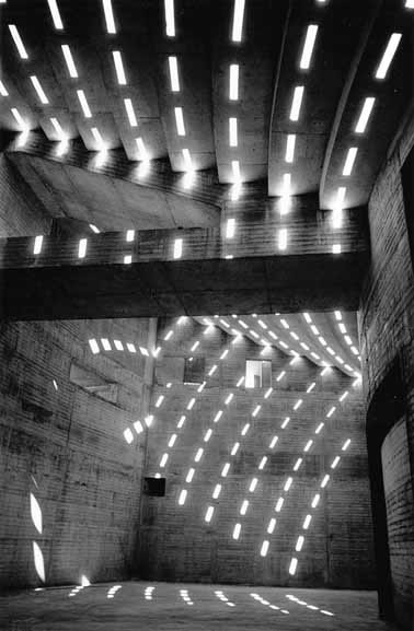 Sun patterns within the Opera House Podium – 1962
