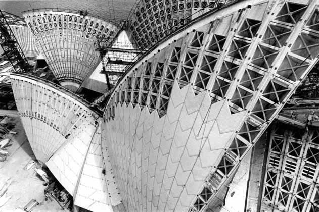 Opera House roof geometry – 1966