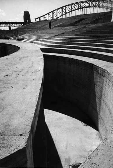 Sydney Opera House entry podium construction – c.1965