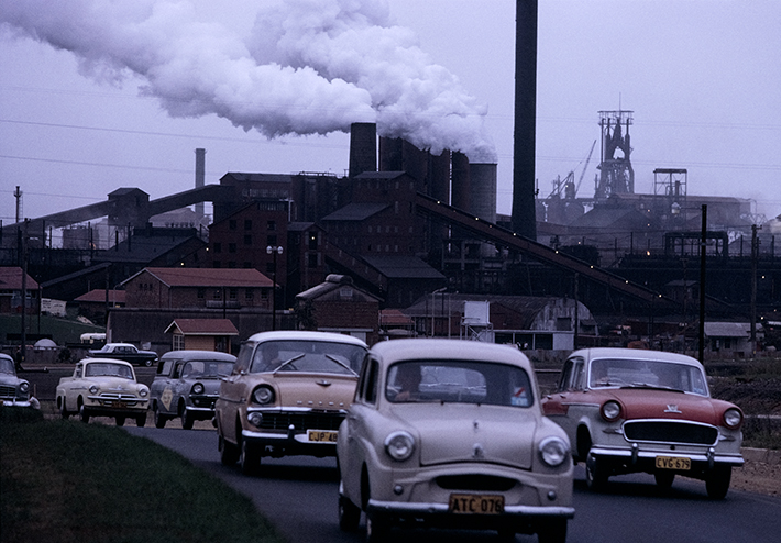 Port Kembla steelworks NSW – c.1966