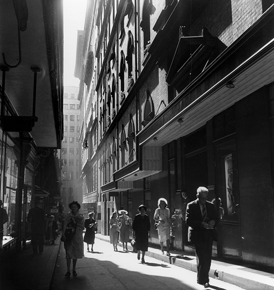 Rowe Street, Sydney – c.1958