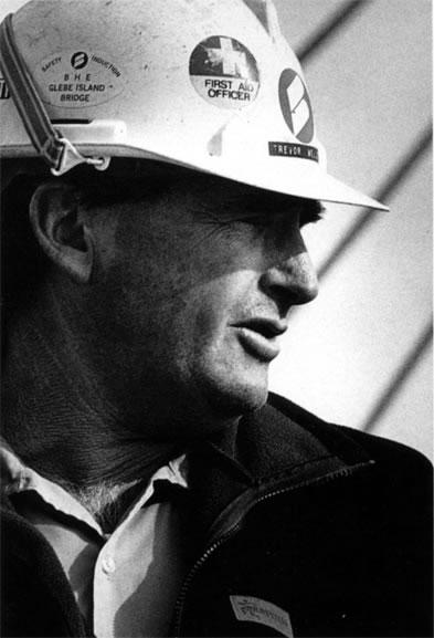 Trevor Weller, foreman – c.1994