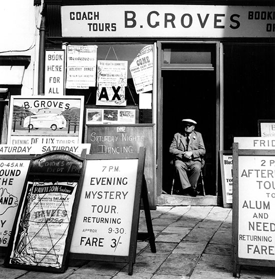B. Groves, Cowes, UK – 1954