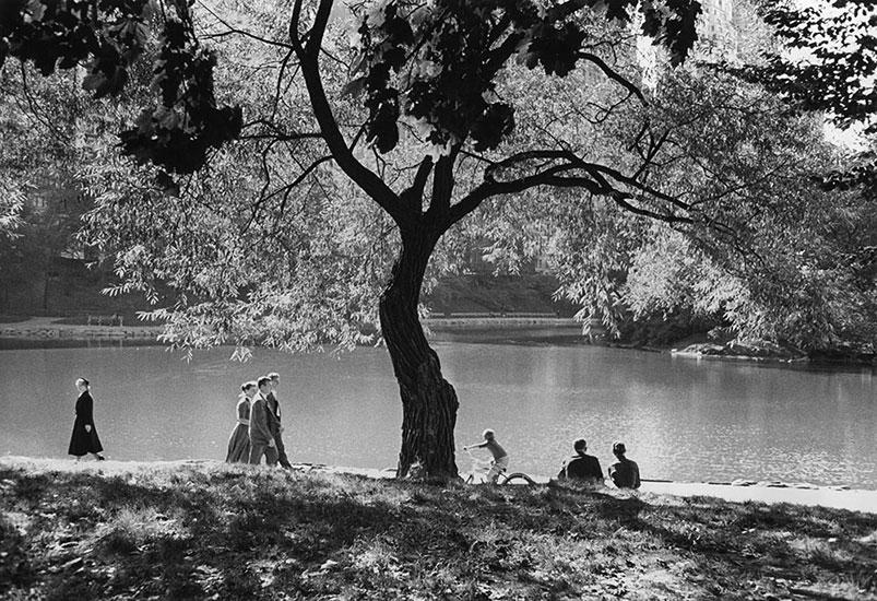 Central Park, New York – 1956