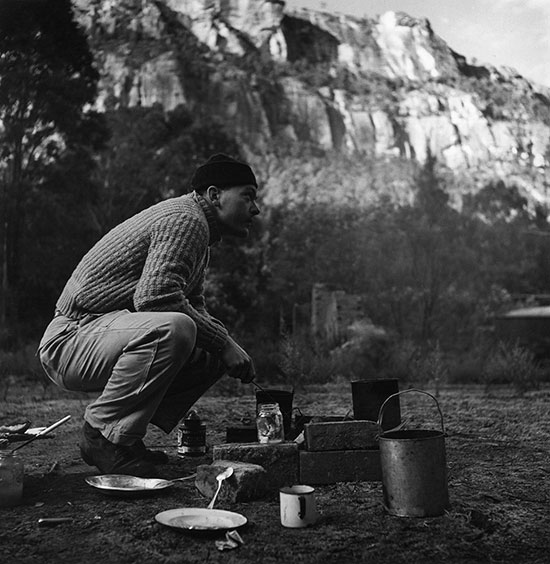David Potts at Newnes – c.1948