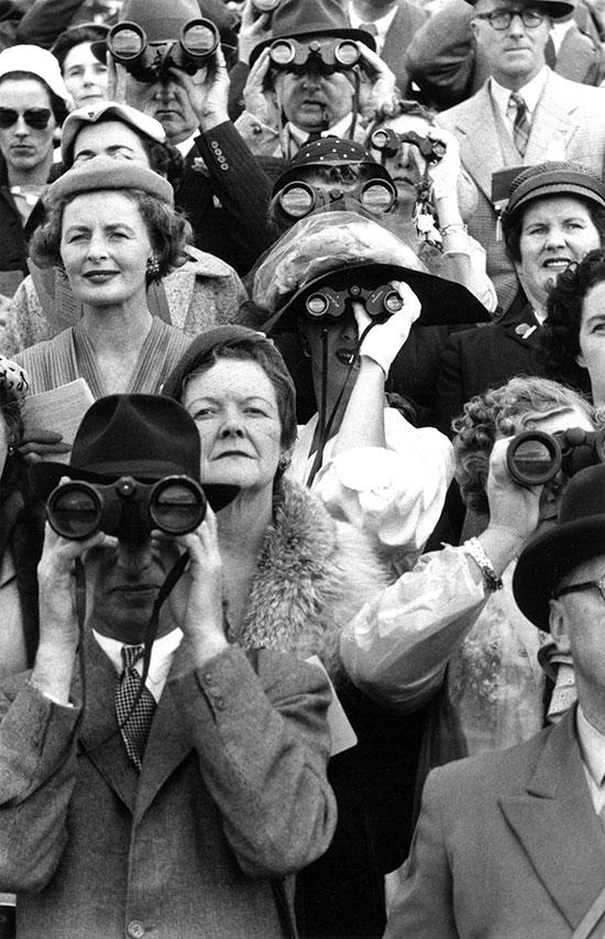 Dublin Horse Show spectators – 1956