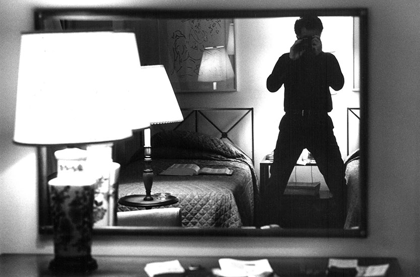 Hotel room, New York City – c.1974