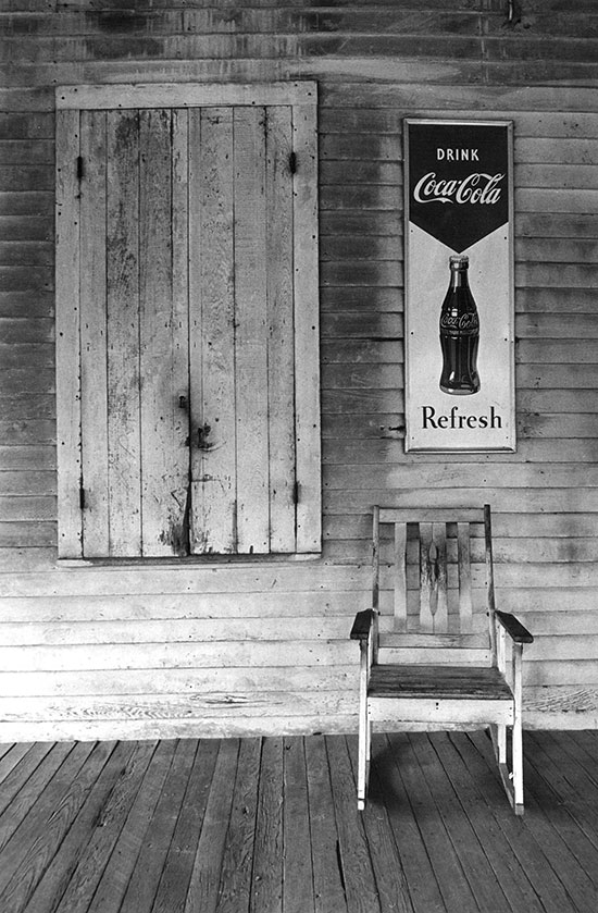 In praise of Walker Evans, Louisiana – c.1974