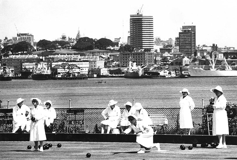 Lady Bowlers, Waverton – c.1968