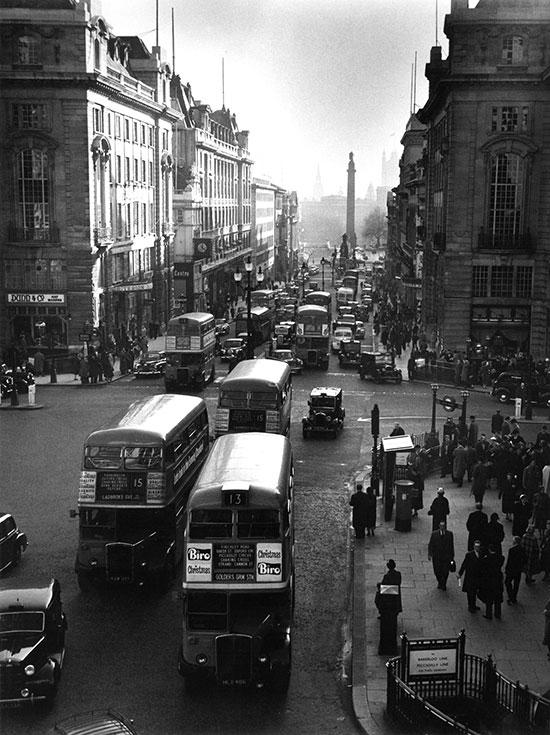 London buses – c.1956