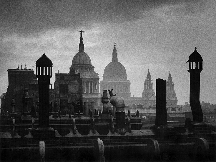 London cityscape – c.1953