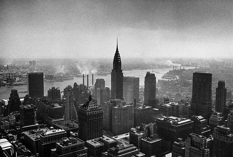 Manhattan with Chrysler Building, New York, USA – 1956