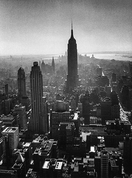 Manhattan with Empire State Building, New York – 1956