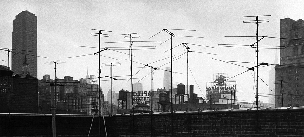 Manhattan skyline – 1956