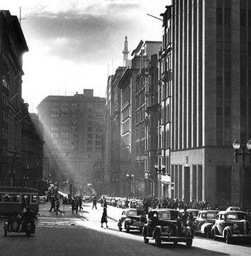 Martin Place 5.10pm, Sydney – 1949