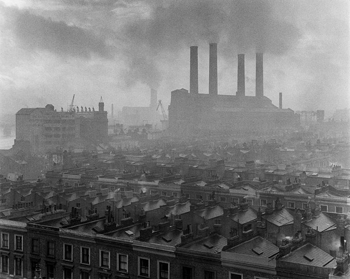 Pollution, London – c.1954