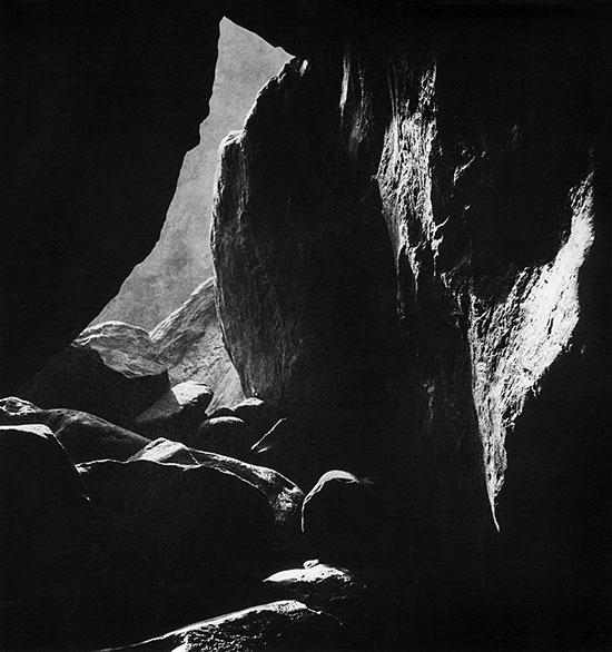Rock cave, Southern Highlands, NSW – c.1948