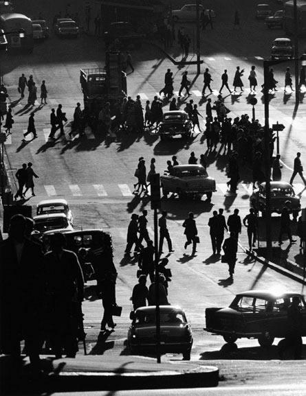 Rush hour, Circular Quay Sydney – 1962