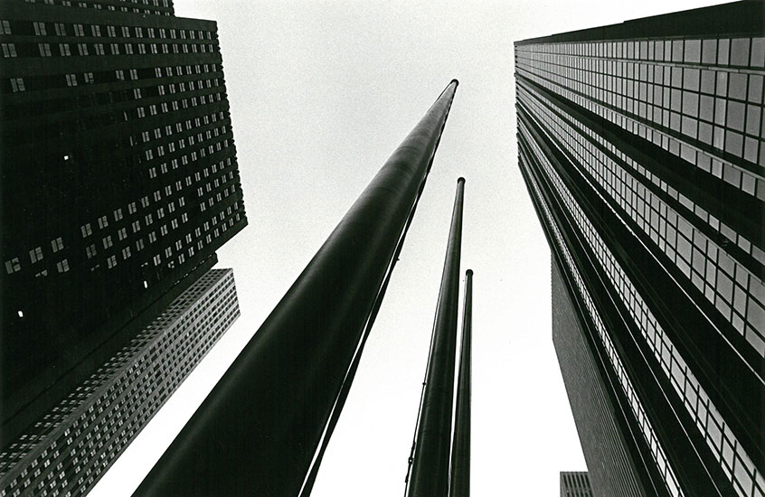 Skyscrapers in Manhattan – c.1973