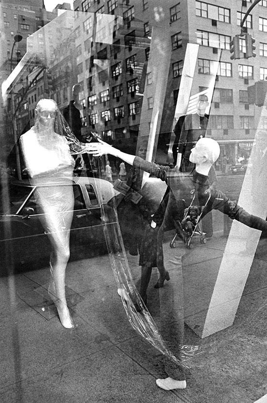 Store window with reflections, New York – c.1974