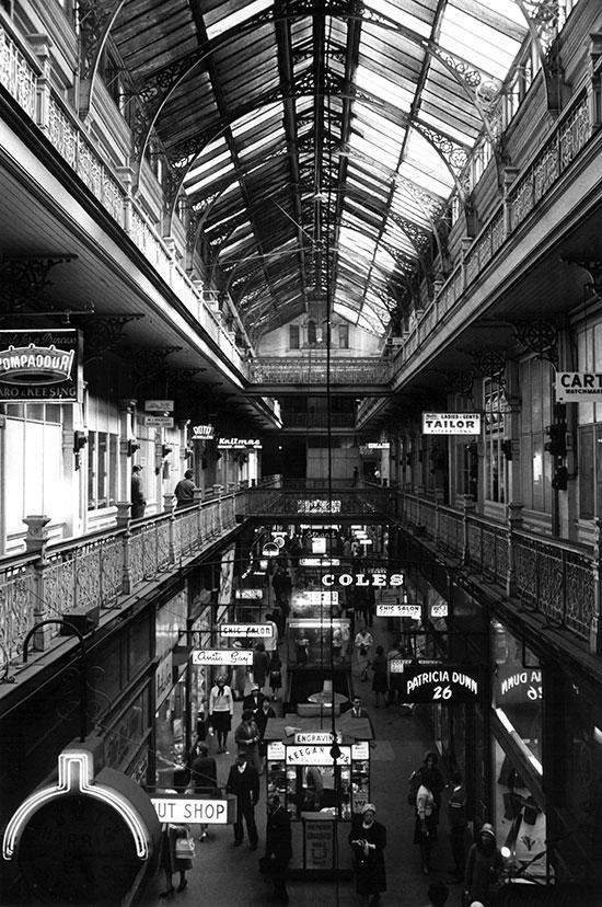 Strand Arcade, Sydney – c.1958