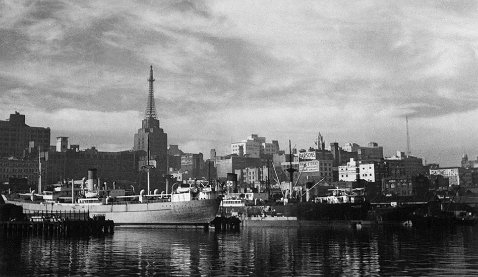 Sydney from Darling Harbour – c.1948