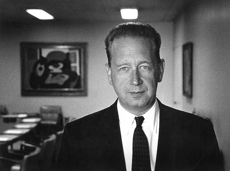 UN Secretary General Dag Hammarskjöld New York – 1956