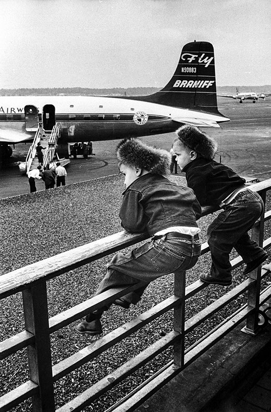 Washington National Airport, USA – 1956